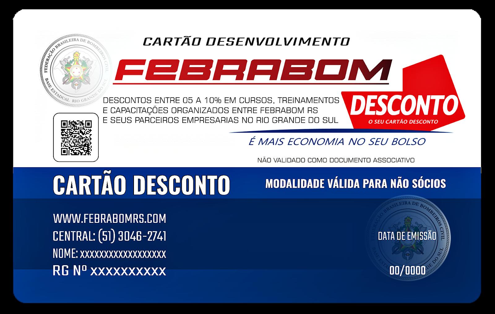 CARTÃO DESCONTOS DE FEBRABOM RS