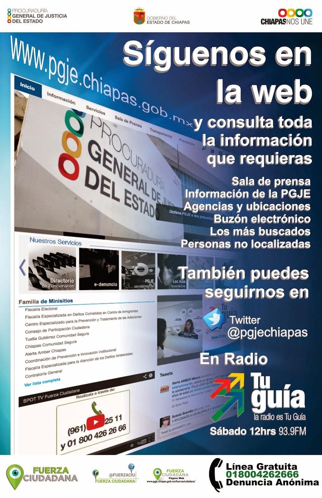Procuraduría General de Justicia del Estado de Chiapas