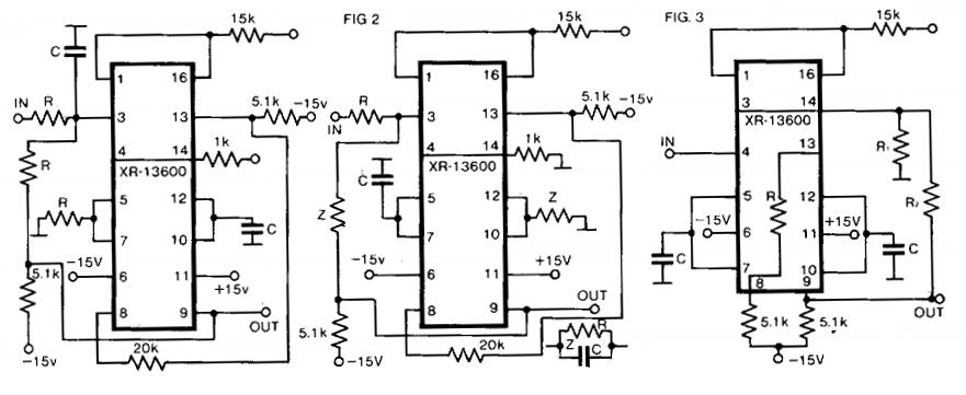 build a universal active filter circuit diagram