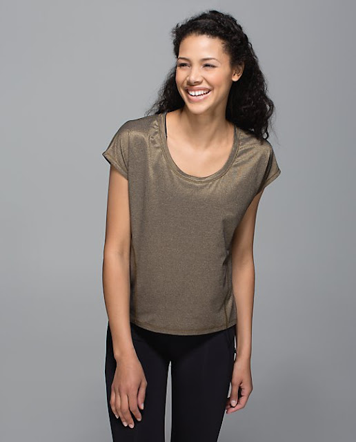lululemon-sweaty-or-not crop-top gold