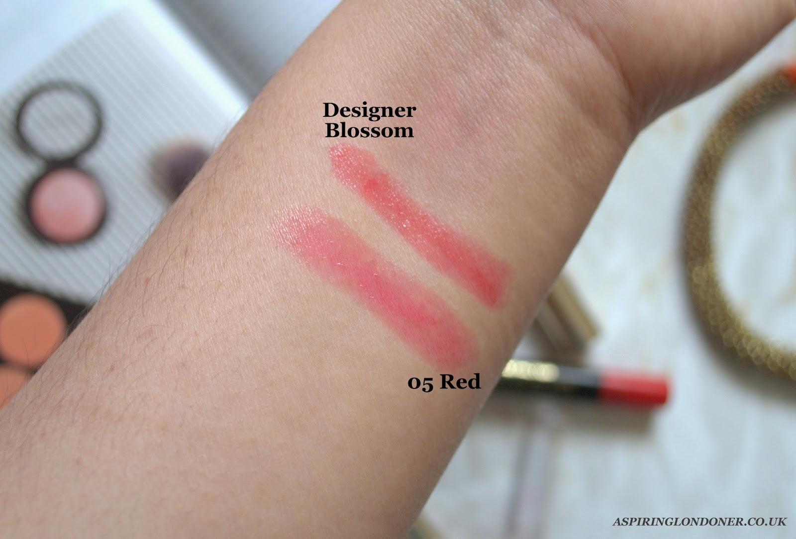 Max Factor Colour Elixir Giant Pen Stick in Designer Blossom Review Swatch - Aspiring Londoner