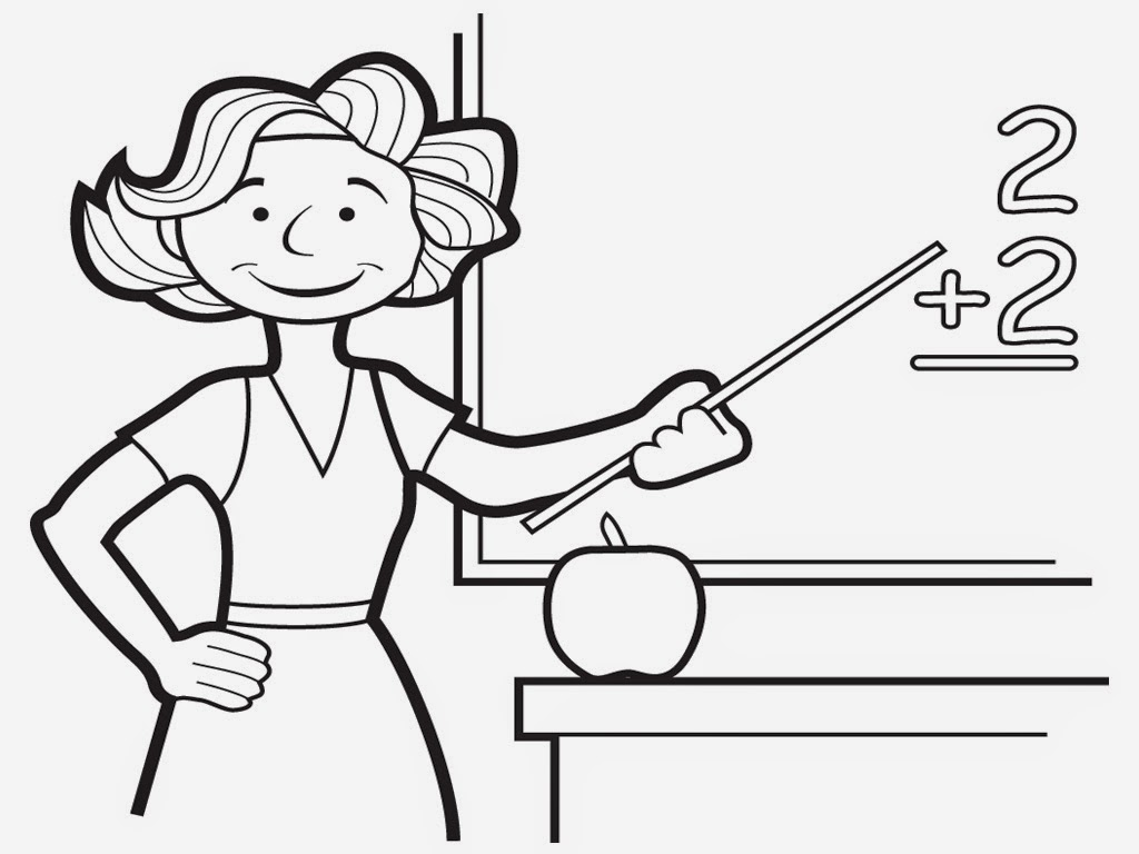 Coloring Pages For Your Teacher : Free coloring pages of teacher your