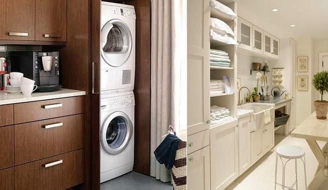 Integrar la zona de lavadero en la cocina decoraci n for Modelos de lavaderos de bano