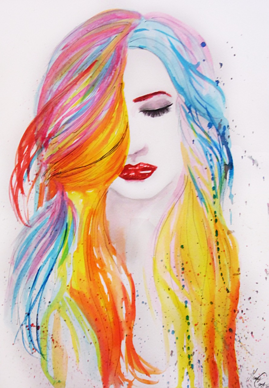 10-Andrea-Wéber-aka-Mandy-Candy-Paintings-A-Mirror-to-the-Artist-s-Emotions-www-designstack-co