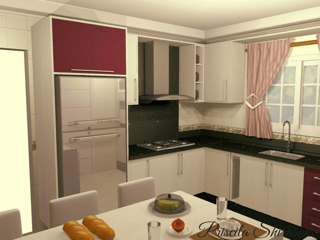 Projeto Cozinha com Lacca Berinjela #AD4412 1024 768