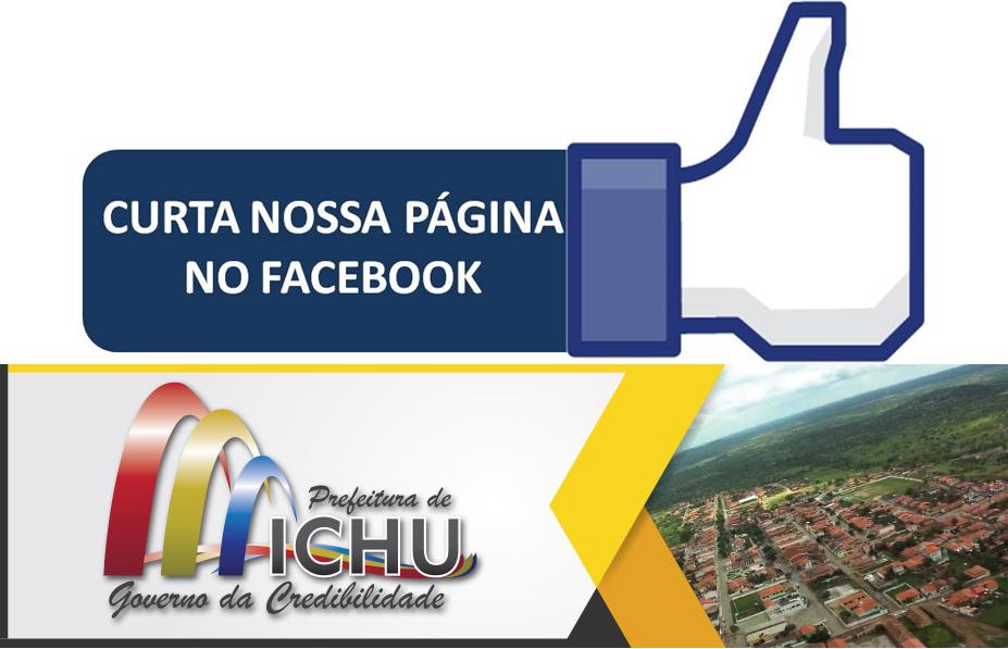 Acesse nossa página no Facebook