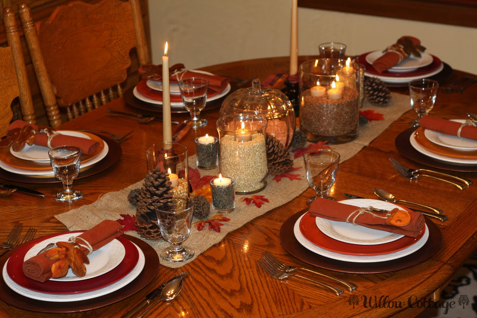 Life At Willow Cottage Tablescapes