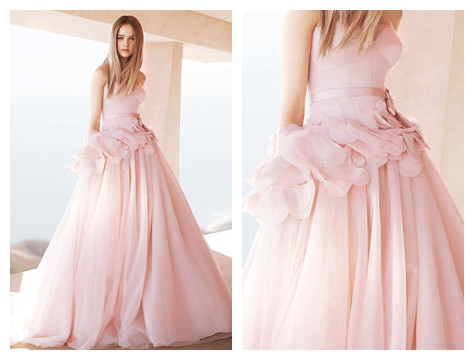 Now available for fitting white by vera wang dress for for Vera wang rental wedding dresses