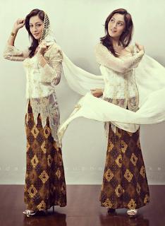 Model Gaun Kebaya Modern untuk Remaja Modis