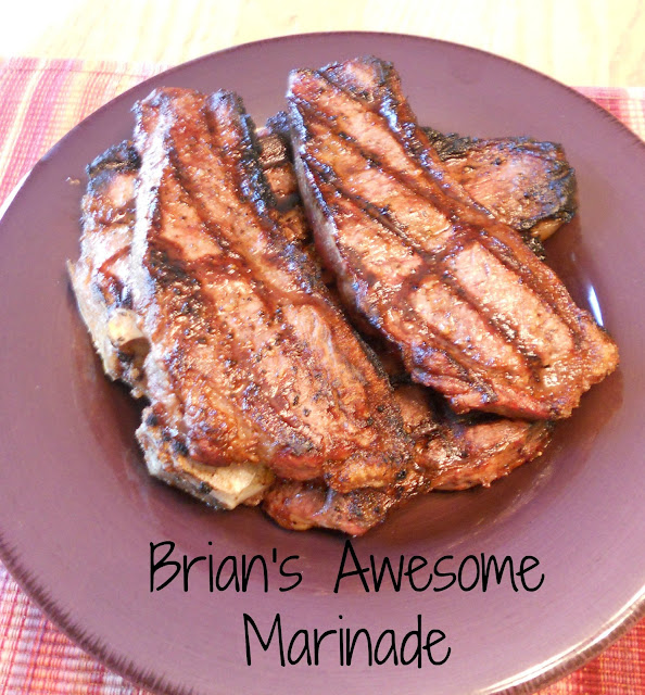 Marinade--good with beef, poultry or veggies