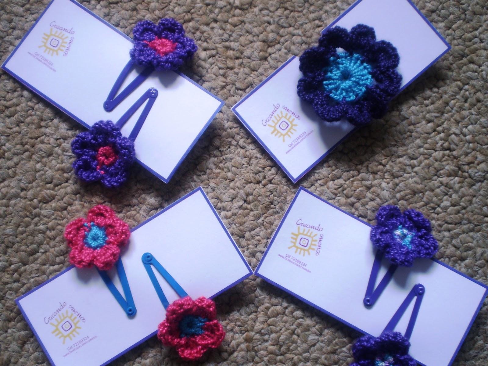 Y para esta temporada  nuevos accesorios para el cabello tejidos en hilo a crochet