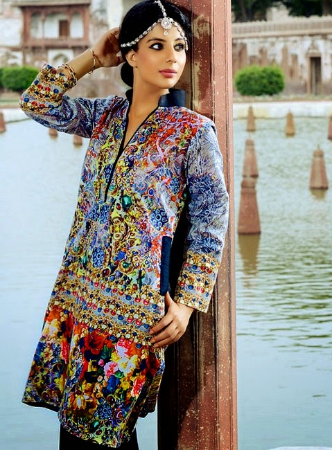 Umar Sayeed Festival Ready To Wear Eid Collection 2014 by Alkaram