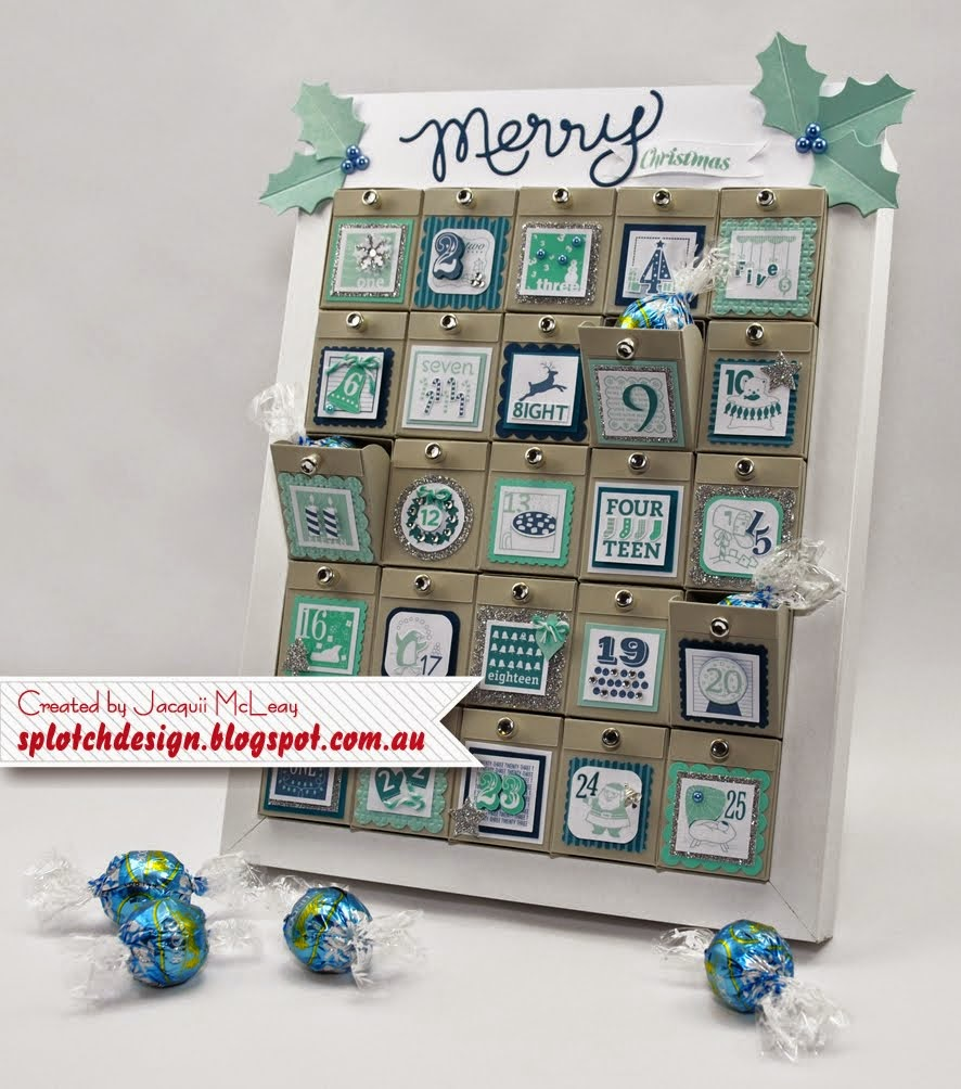 Christmas Advent Calendar Tutorial - $4.95