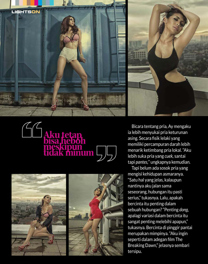 Ay Claudia for Male Magazine April 2013