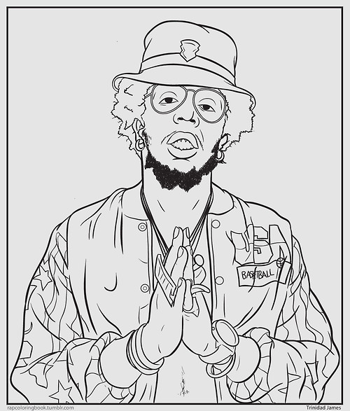 the result of their mind merge is one of the most entertaining interactive tumblr accounts out there rap coloring book is a collection of printable - Rap Coloring Book