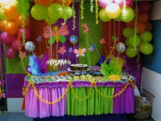 Children parties balloons decorations