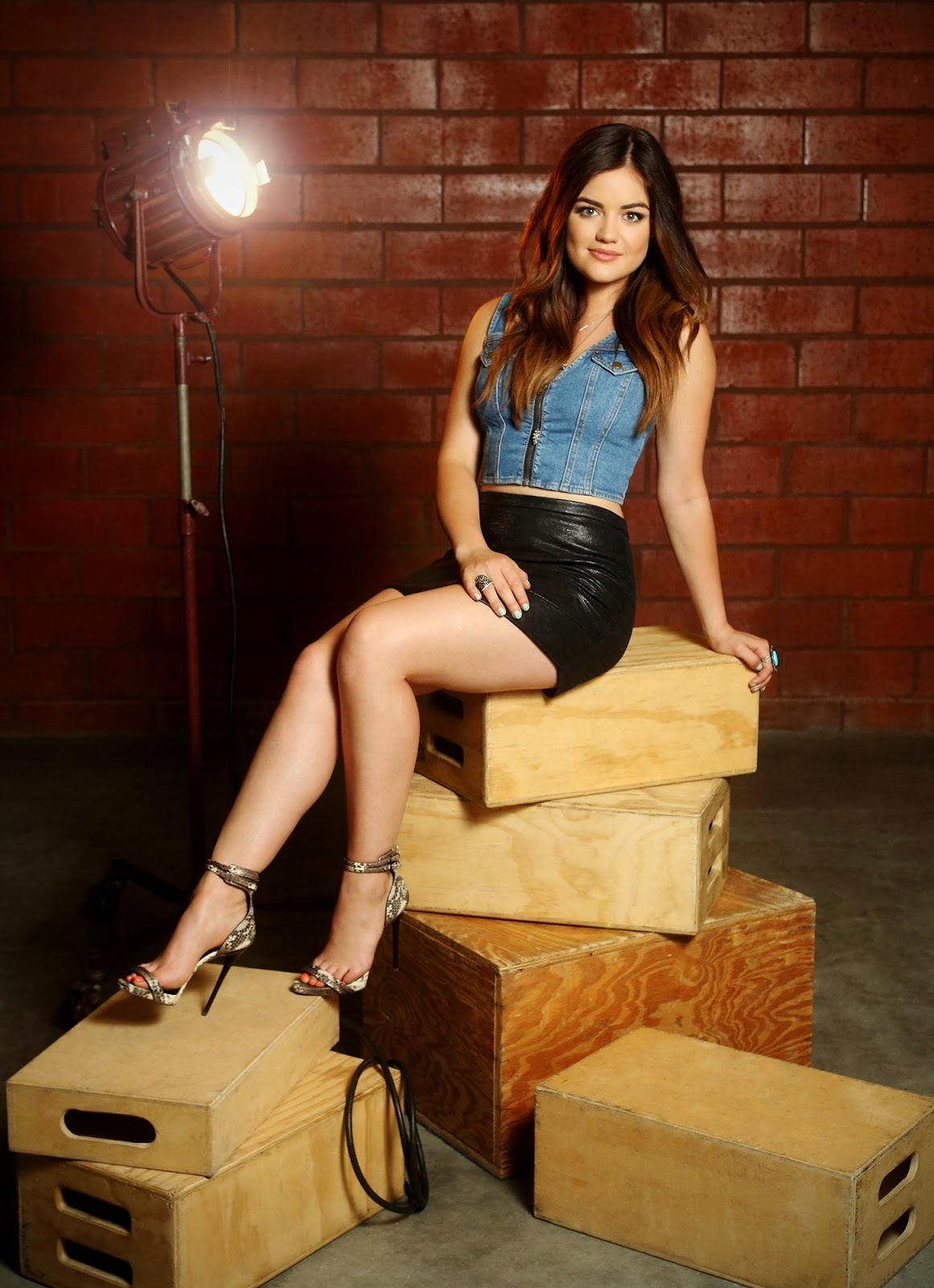 Lucy hale photoshoot pictures