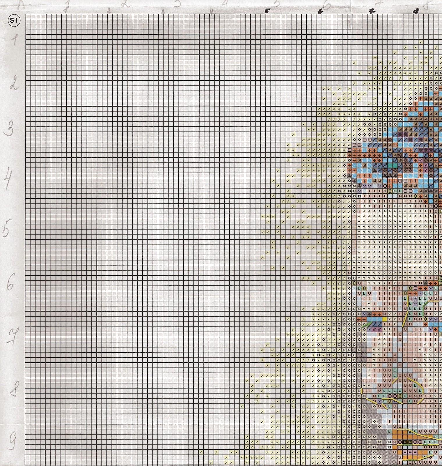 вышивка крестом схемы ирисы серия премиум