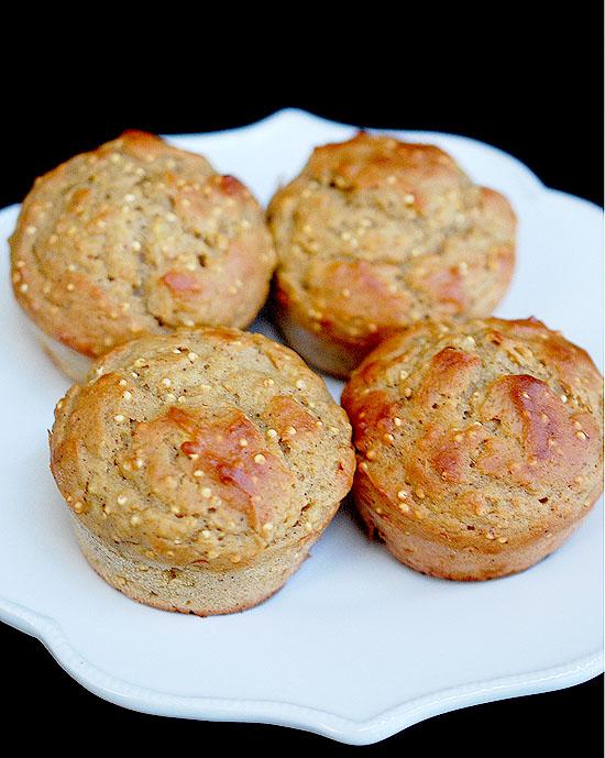 ... always room for dessert!: Acorn squash (or pumpkin) millet muffins