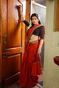 Archana veda in red saree photos-thumbnail-1