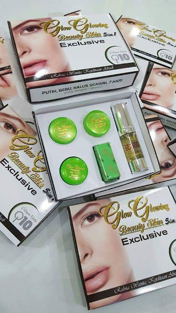 Glow Glowing Beauty Skin Exclusive 5 in 1 Murah