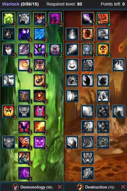 Best Talent Build For A Demonology Warlock
