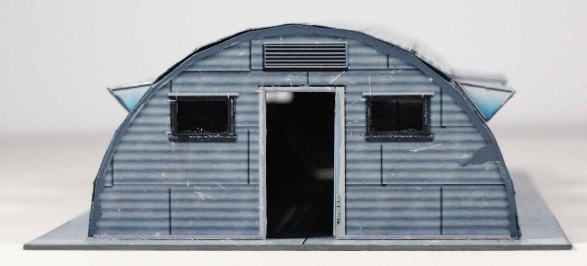 Military Surplus Quonset Huts For Sale >> Vampifan S World Of The Undead Finger And Toe Models Quonset Hut