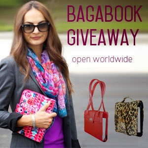 Enter the Bagabook Giveaway. Ends 9/30