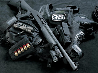 Swat Shotgun HD Wallpaper