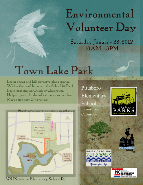 Environmental Volunteer Day – Jan 28, 2012