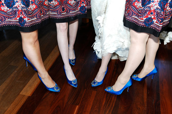 royal blue wedding shoes