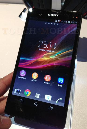 Sony Xperia Z : El Telefono resistente al Agua y al Polvo