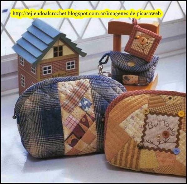 Patchwork solo patrones todo gratis bolso monederos - Patchwork en casa patrones ...