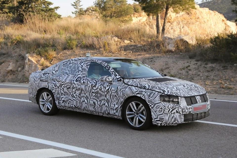 Next Generation Volkswagen Passat 2015