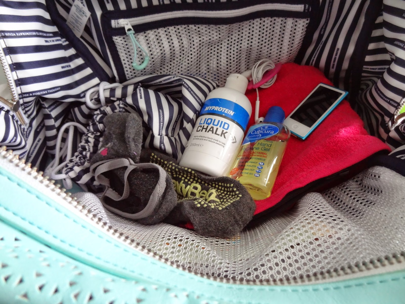 What's in my Lululemon Gymbag