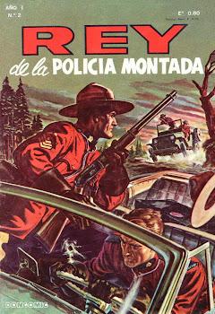 REY DE LA POLICIA MONTADA Nº 002