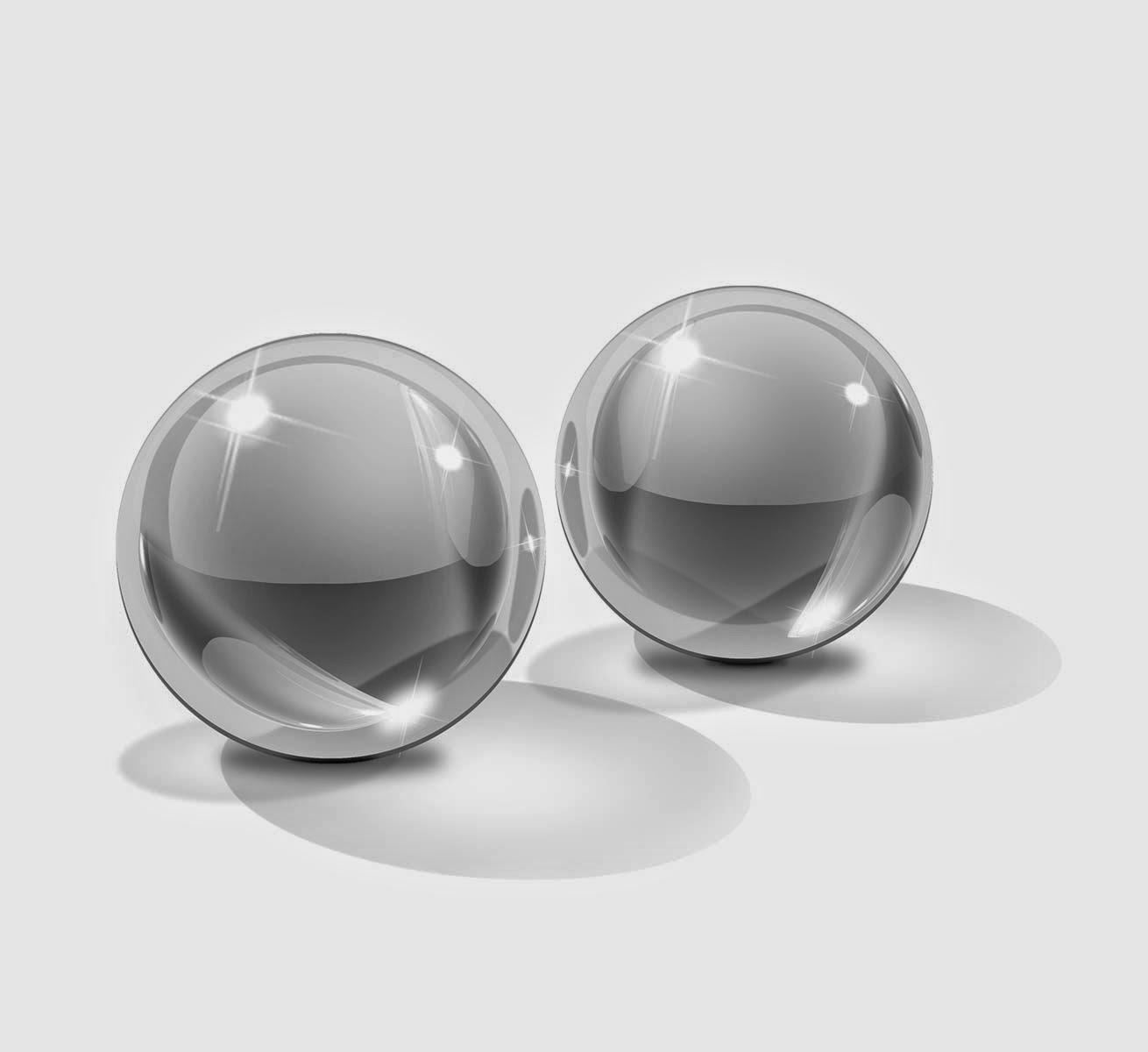 Icicles No.41 Small Glass Ben-Wa Balls