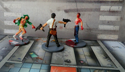 Doug the Office Guy Painted Zombicide Survivor