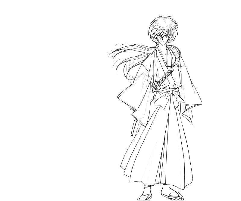 printable-kenshin-himura-character-coloring-pages