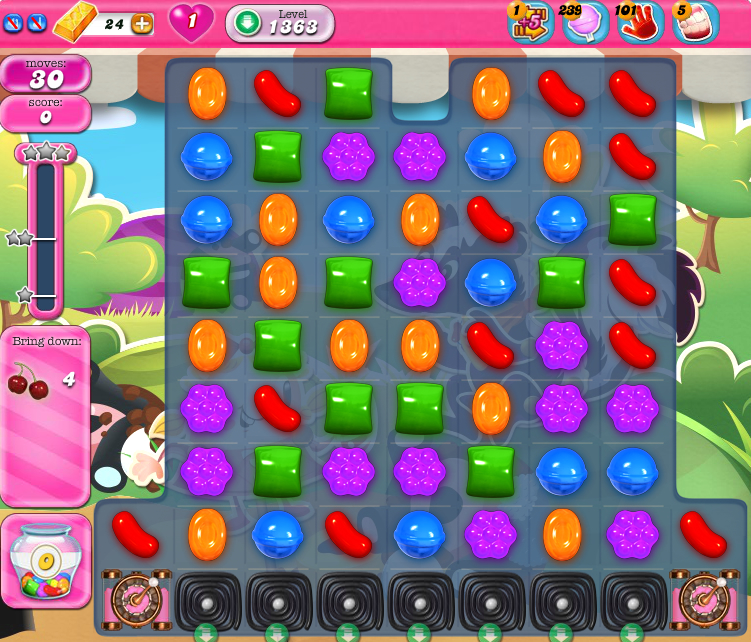 Candy Crush Saga 1363