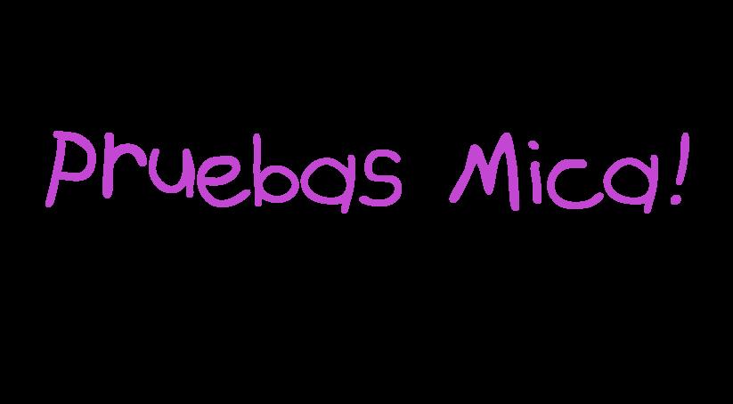 pruebas Mica