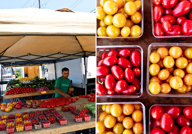 Farmer's Market, Cherry Tomatoes