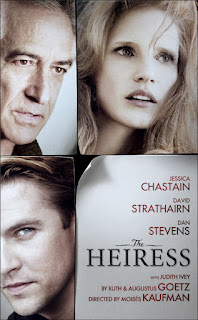 The Heiress: Jessica Chastain (The Help) Makes Her Broadway Debut on Nov. 1st / Previews Start on Oct. 7th