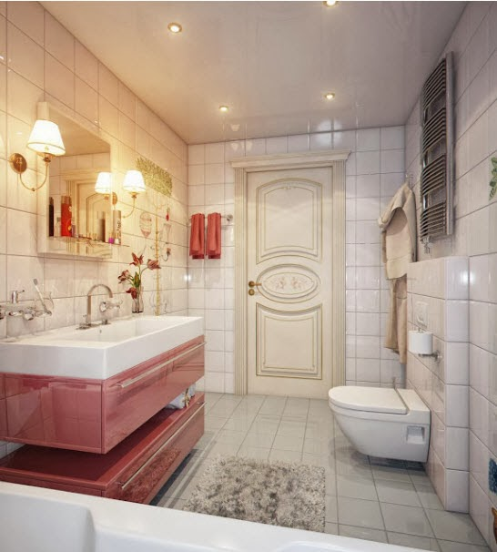 What Little Girl Wouldnu0027t Be In Heaven Owning This Adorable Bathroom?