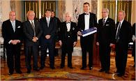 El Príncipe Felipe de Borbón inaugura el libro del Bicentenario junto a Artistas Ibero-Americanos