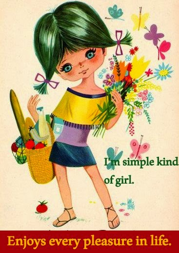 A simple kind of girl