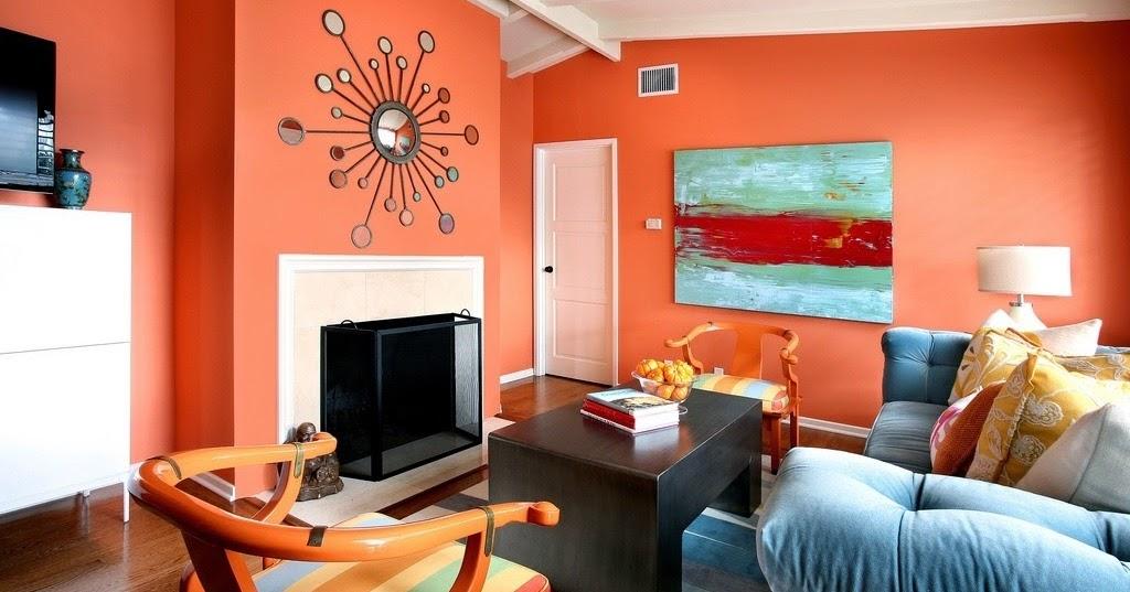Image Result For Ruang Keluarga Orange