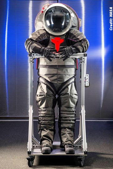 New Spacesuit for the Big Mars Trip