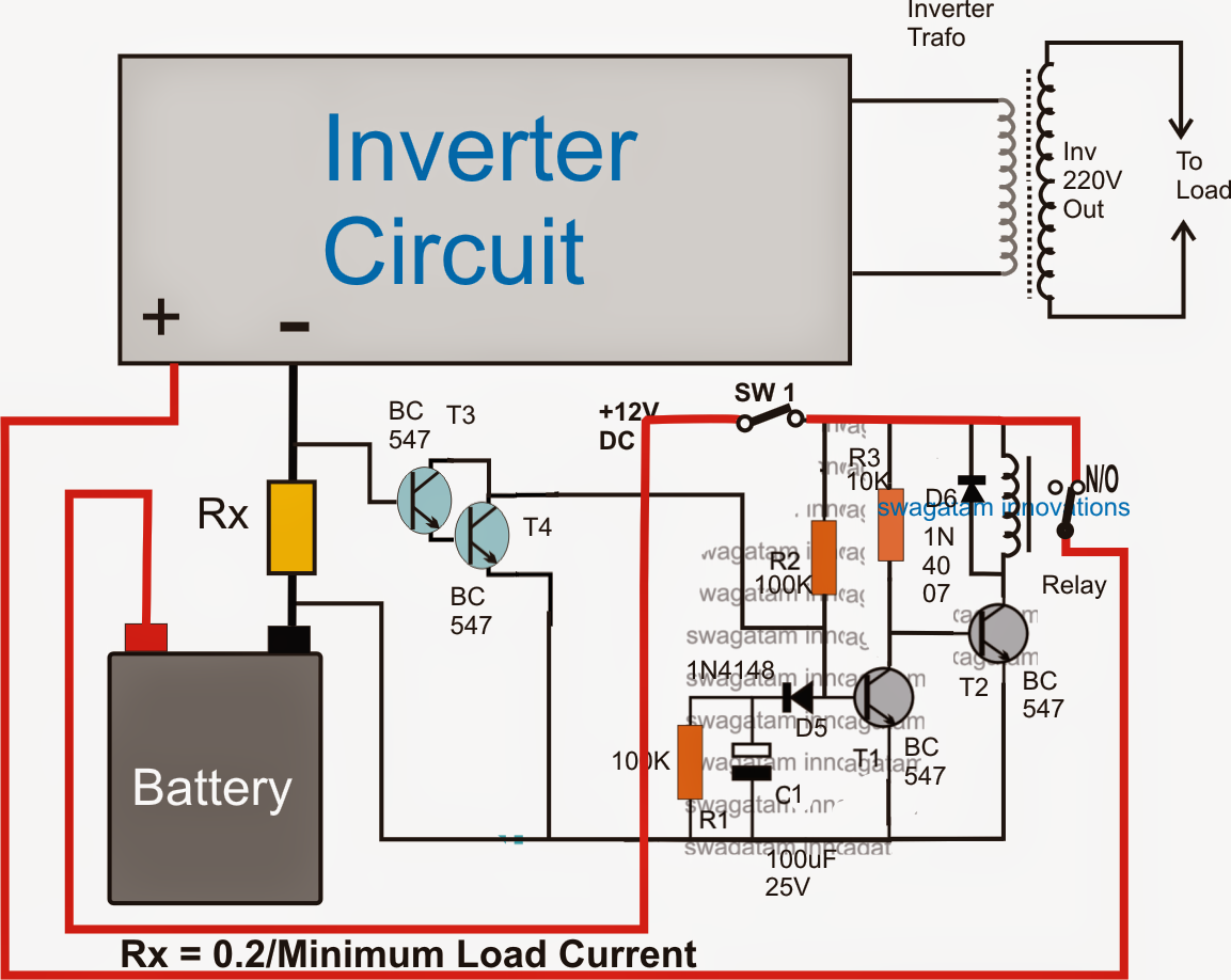 Electroluminescent Wire1 further Latch likewise Whole Building furthermore No Load Detector And Cut Off Circuit besides Simple Switched Power Supplies. on auto inverter diagram