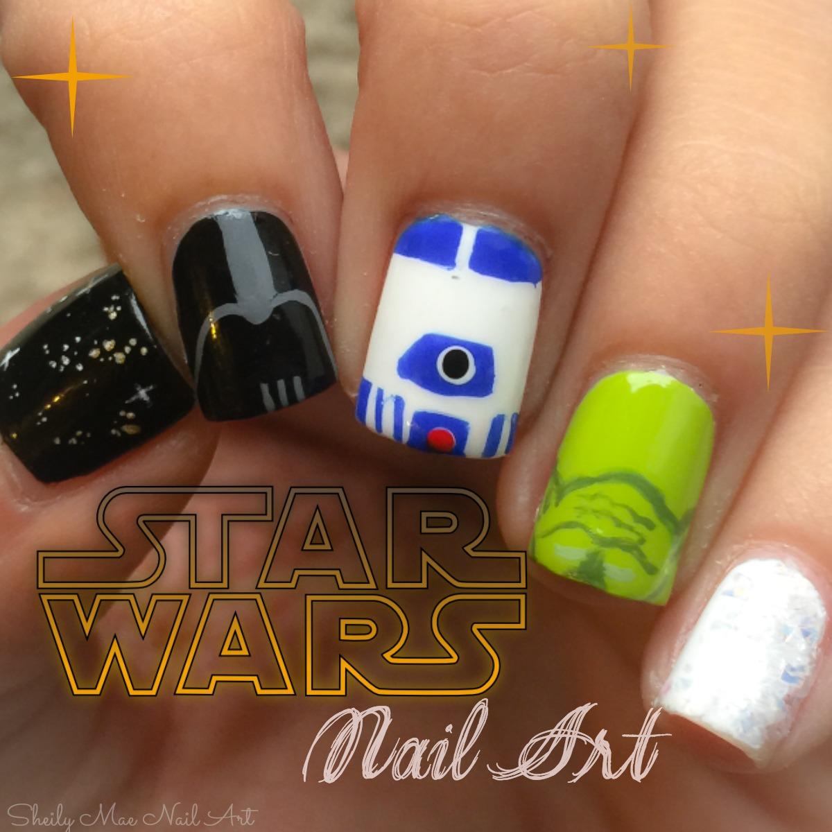 Star Wars Nail Art Sheily Mae Nail Art